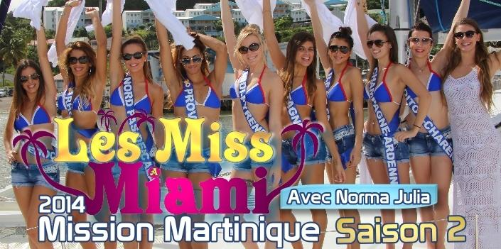 Les Miss à Miami Saison 2